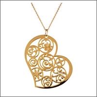 Altesse pendentif collier 15